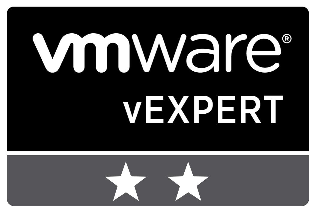 vExpert 2020 and 2021