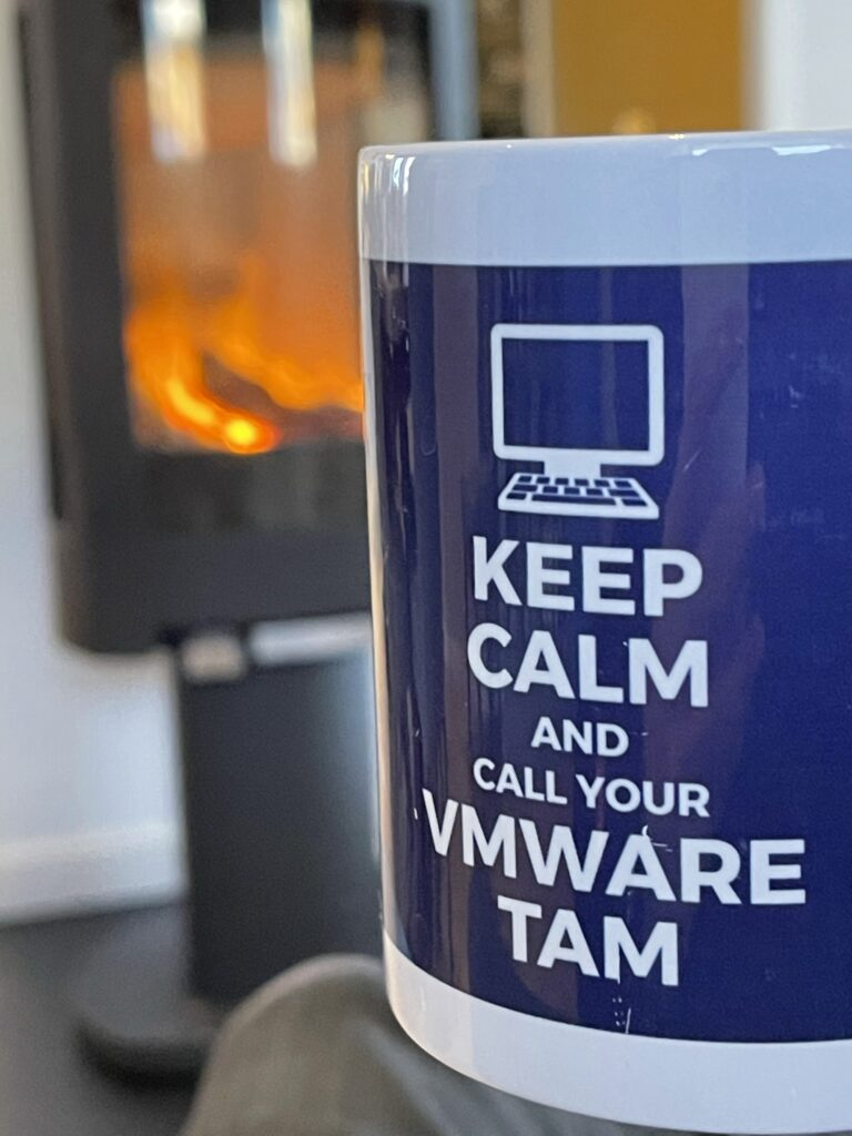 Keep calm and call your VMware TAM